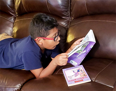 Elementary, middle school students are reading millionaires